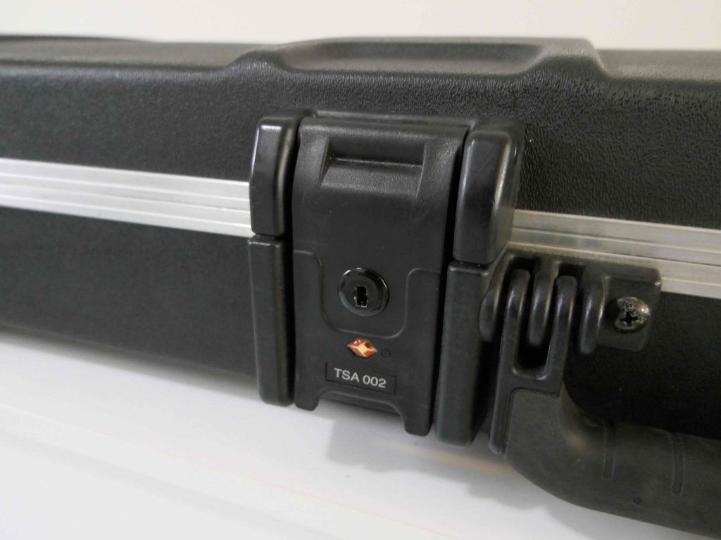 TSA Approved Locks on a Gig Bag