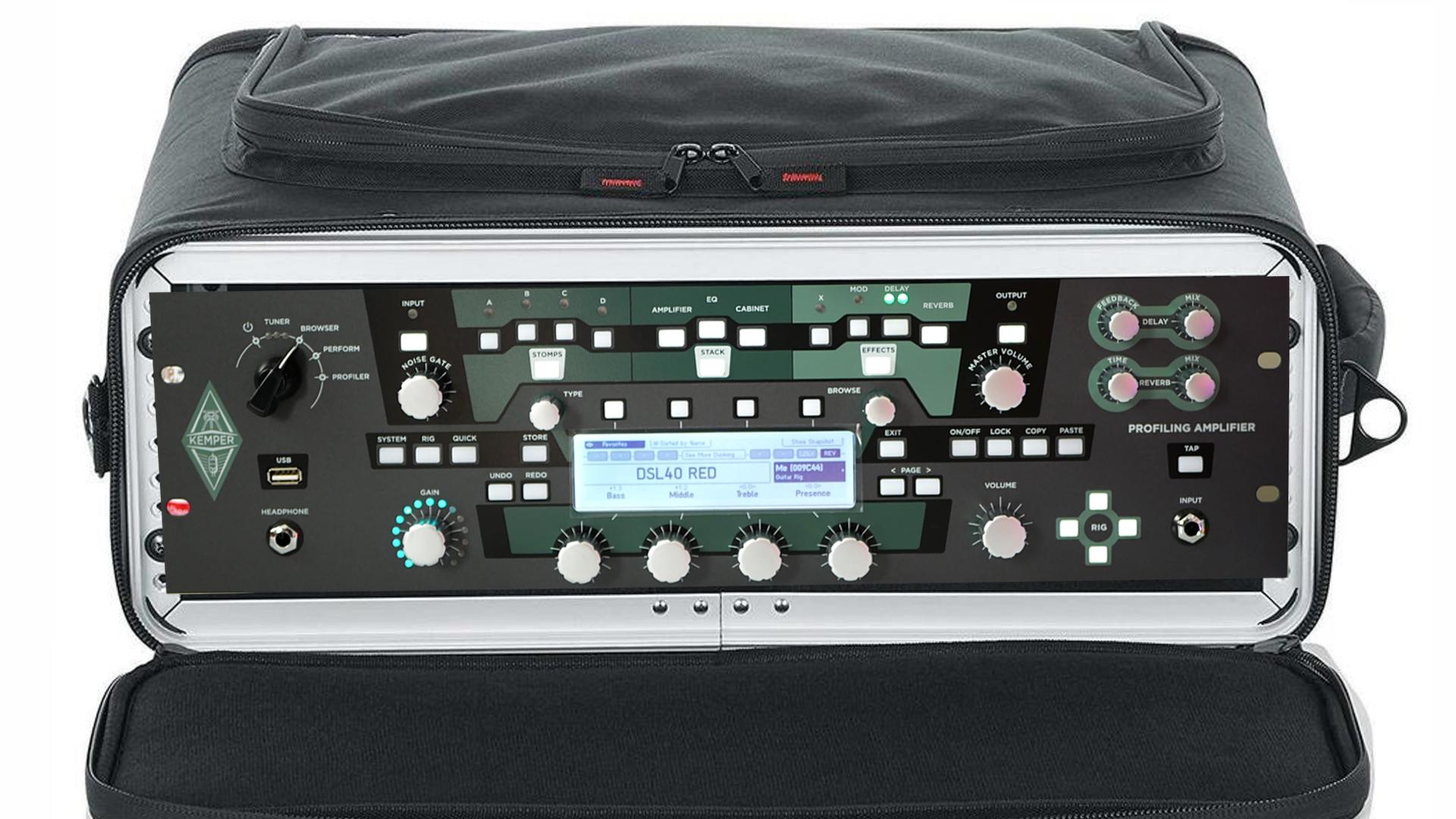 Kemper Profiling Amplifier Rack Cases